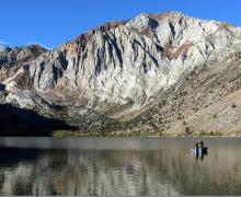 Convict Lake october 4