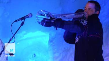Sights and sounds from Norway's annual Ice Music festival | Mashable