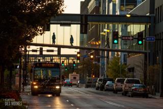 Downtown Des Moines Skywalks