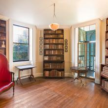 The Book Room at Monticello