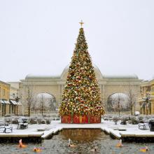 Bridge Street Town Centre - Christmas tree