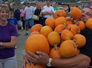 Pumpkin Carrying Contest