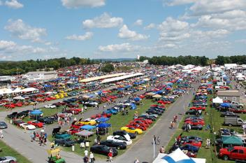 Overview of Corvette Show