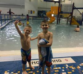 Kids at Splash Island Indoor