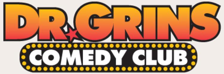 Dr. Grins Comedy Club Logo