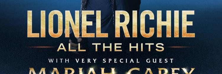 """Lionel Richie and very special guest Mariah Carey announce dates for """"All the Hits Tour"""""""
