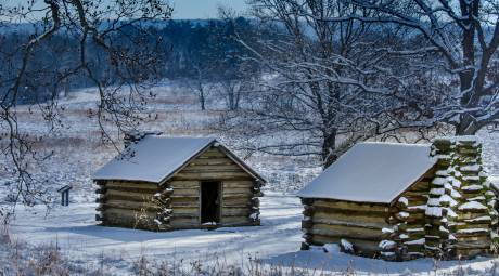 Valley Forge Park Winter Huts Header