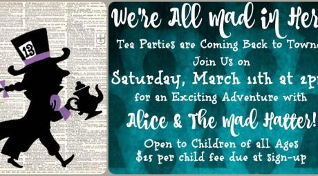 Towne Book Center Tea Party
