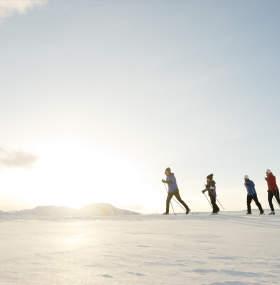Cross Country skiing in Hallingdal
