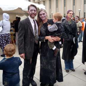 Fright Night Zombie Walk Family - Downtown Fort Wayne, IN