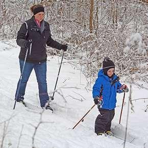 blog Winter Fun at Fox Island