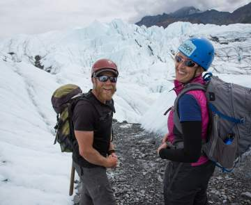 Matanuska Glacier Hikers
