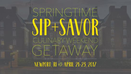 Springtime Sip & Savor Getaway