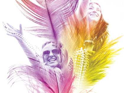 Mardi Gras Rack Card Cover