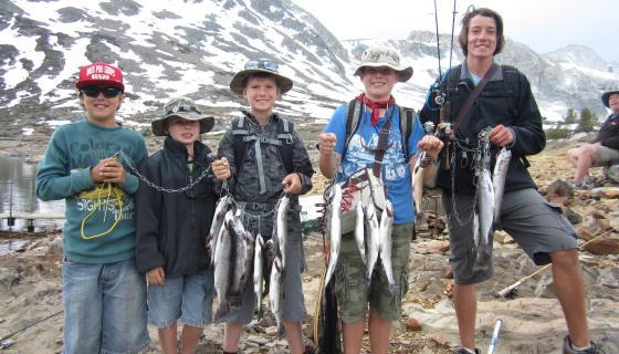 Saddlebag Lake Fishing