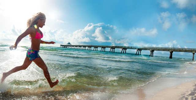 Quietest Beaches Florida
