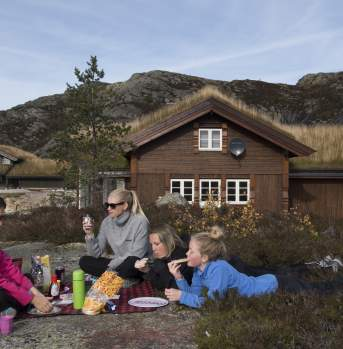 Knaben cabins southern Norway