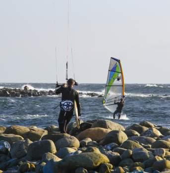 Windsurfing in Lista Norway