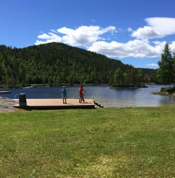 Swimming areas in Vegårshei Norway