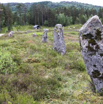 Tingvatn Fornminnepark og besøkssenter Hægebostad Norway