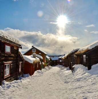 Winter in Røros