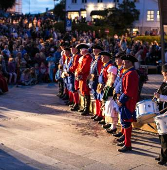Pirate festival Farsund Norway