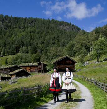 Culture and national costumes in Setesdal