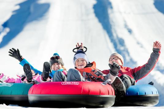 Snow Tubing at Park City's Gorgoza Park