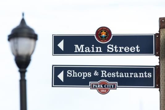 Shopping on Main Street Park City