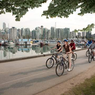 Cycling and Mountain Biking in Vancouver