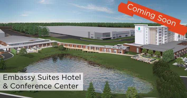 Conference Center Coming Soon