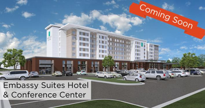 Embassy Suites Coming Soon