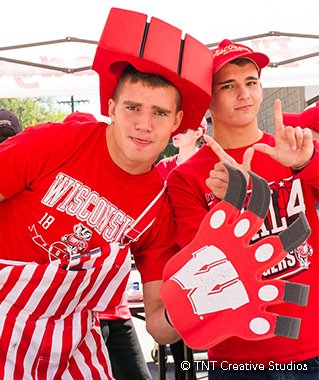 Badger Fans - Game Day