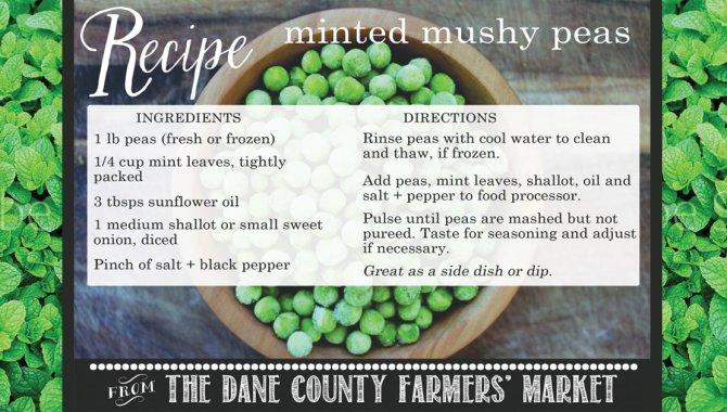 Recipes from Dane County Farmers' Market