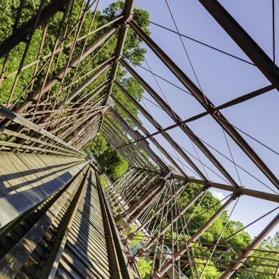 Bollman Truss Railroad Bridge at Savage Mill 3