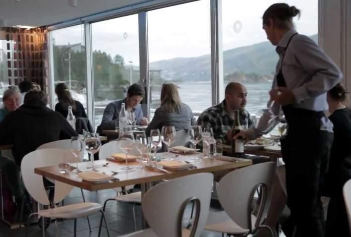 Christopher from Bergen Restaurant Lysverket