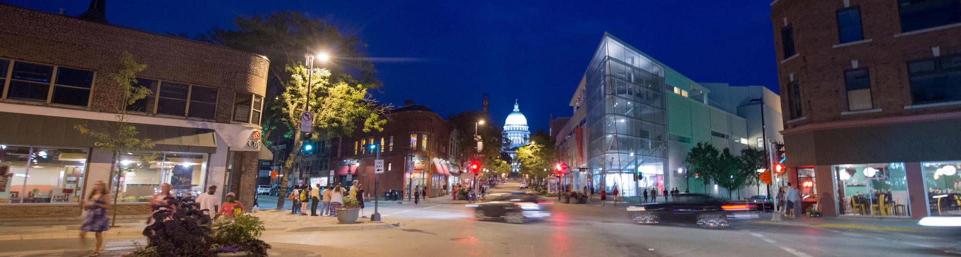 Madison at Night