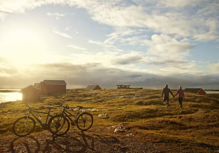 Øyhopping med sykkel på Helgeland - Vega
