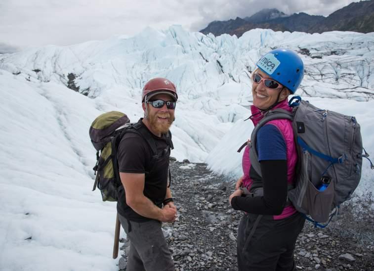 Matanuska Glacier Hikers