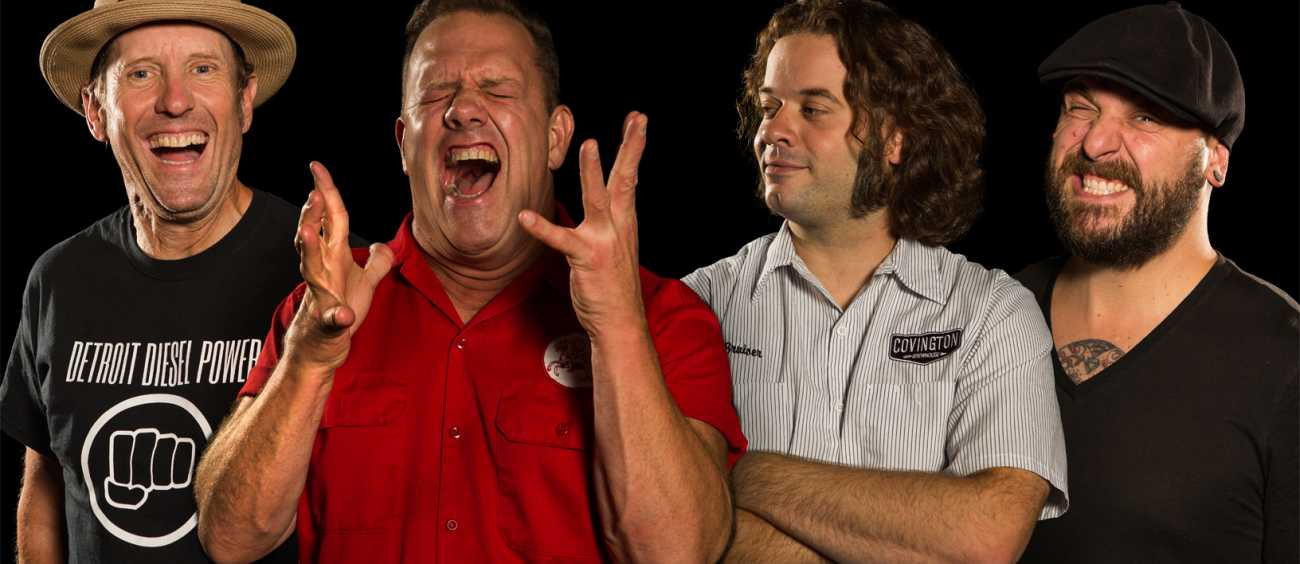 A photo of the band Cowboy Mouth
