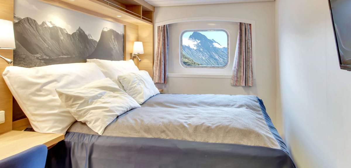 Hurtigruten's fresh, new interiors