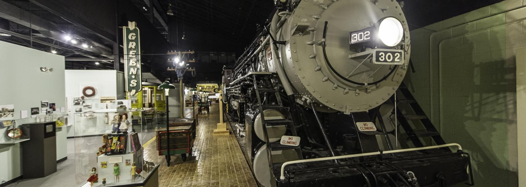 Augusta Museum of History train