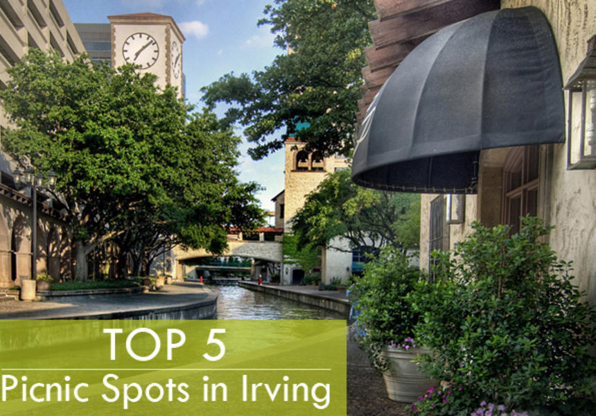 top 5 picnic spots in irving texas and las colinas
