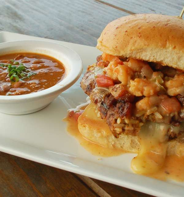 Louisiana Cruncher Burger