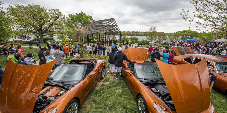 Tulip Time car show