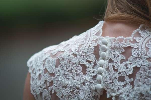 Wedding Dress close up