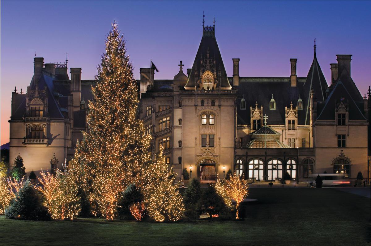 Christmas at biltmore for Asheville arts and crafts biltmore village
