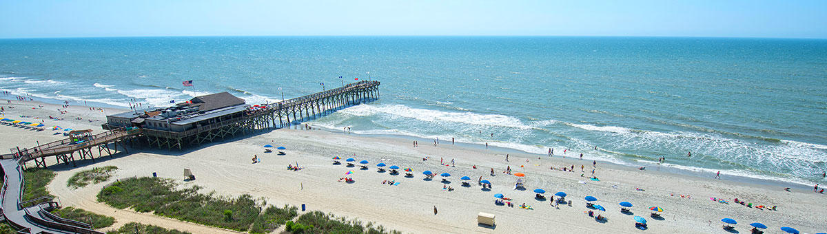 Myrtle beach sc things to do 14th avenue pier for North myrtle beach fishing pier