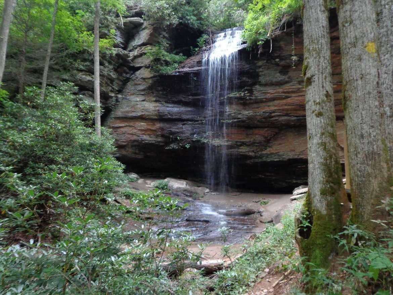 Moore Cove Falls