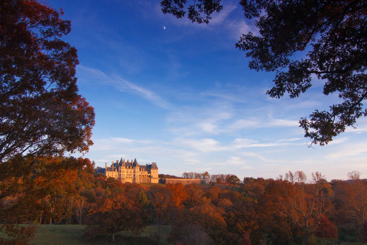Biltmore Rear View in Fall